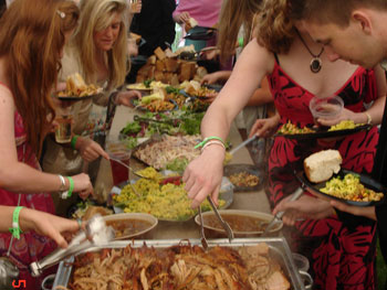Hog Roasts catering for large events